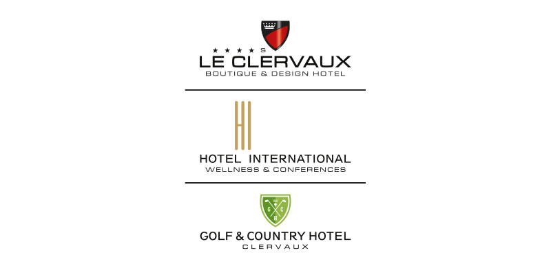 Logo Chateau Le Clervaux Wellness Conferences Golf Country Hotel